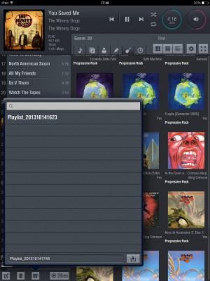 playlist option