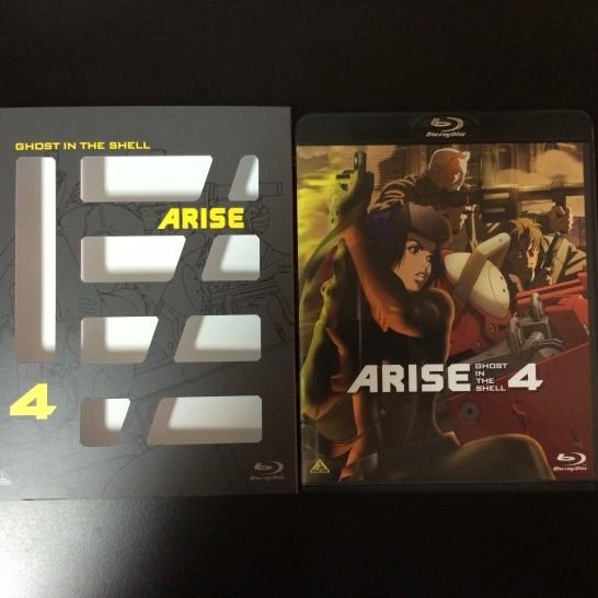 BD攻殻機動隊ARISE4