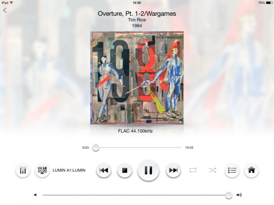 Technics Music App(iPad)01