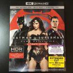 【UHD BDレビュー】第1回『バットマン vs スーパーマン ジャスティスの誕生』 米国盤 【Dolby Atmos】