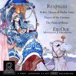 【ハイレゾ音源備忘録】大植英次・ミネソタ管弦楽団 / Respighi: Belkis, Regina di Saba, Ballata delle gnomidi & Pini di Roma