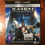 【UHD BDレビュー】第5回『X-MEN: アポカリプス』 北米盤 【Dolby Atmos】