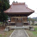 【地元探訪・小野小町編】熊野神社(湯沢市小野字小野)