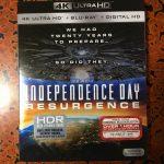 【UHD BDレビュー】第9回『インデペンデンス・デイ: リサージェンス』 北米盤 【Dolby Atmos】