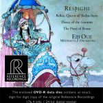 【ハイレゾ音源備忘録】大植英次・ミネソタ管弦楽団 / Respighi: Belkis, Regina di Saba, Ballata delle gnomidi & Pini di Roma 176.4kHz/24bit