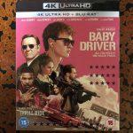 【UHD BDレビュー】第45回『ベイビー・ドライバー』 英国盤 【Dolby Atmos】