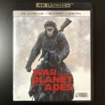 【UHD BDレビュー】第40回『猿の惑星:聖戦記』 米国盤 【Dolby Atmos】