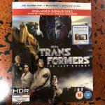 【UHD BDレビュー】第47回『トランスフォーマー/最後の騎士王』 英国盤 【Dolby Atmos】