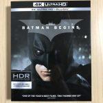 【UHD BDレビュー】第48回『バットマン ビギンズ』